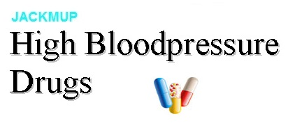 High Bloodpressure Drugs