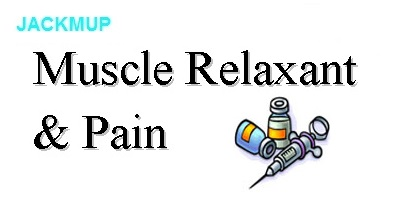 Muscle relaxant and Pain